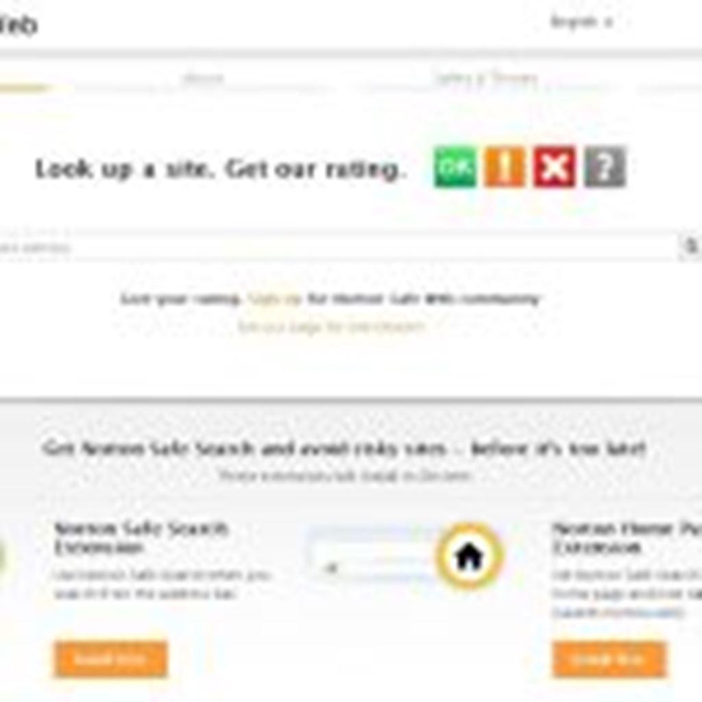 リファラスパムを開く前に!Webサイト(URL)をチェックしよう|ノートンセーフウェブ(Norton Safe Web, from Symantec)