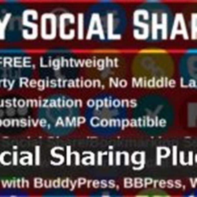 【WordPress】シェアボタンを追加するプラグイン!Sassy Social Share