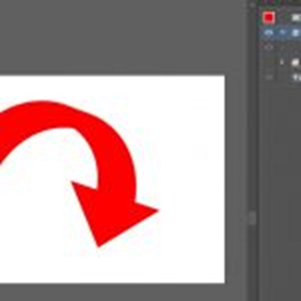 立体的な円形の矢印を作成する方法/Illustrator(イラストレーター)