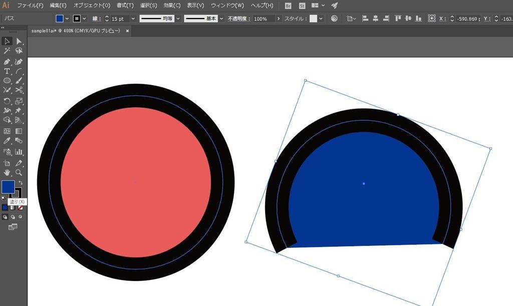 illustrator(イラストレーター)/オープンパスとクローズパスについて