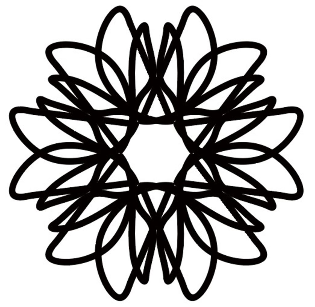 【illustrator CC】雪化粧っぽい模様を作る方法|アピアランス|変形効果