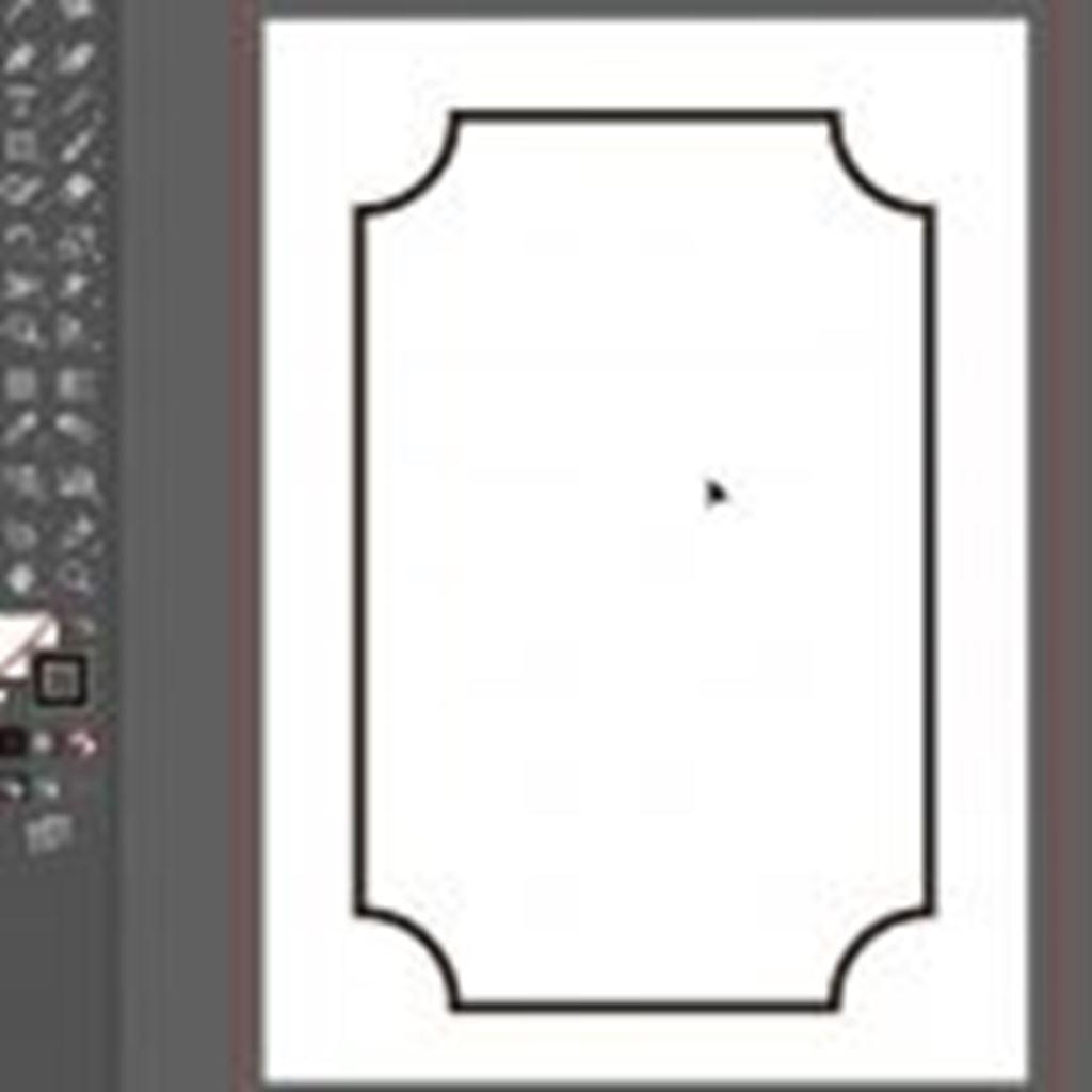 【illustrator】ライブコーナーウィジェットで角丸を内側にする方法