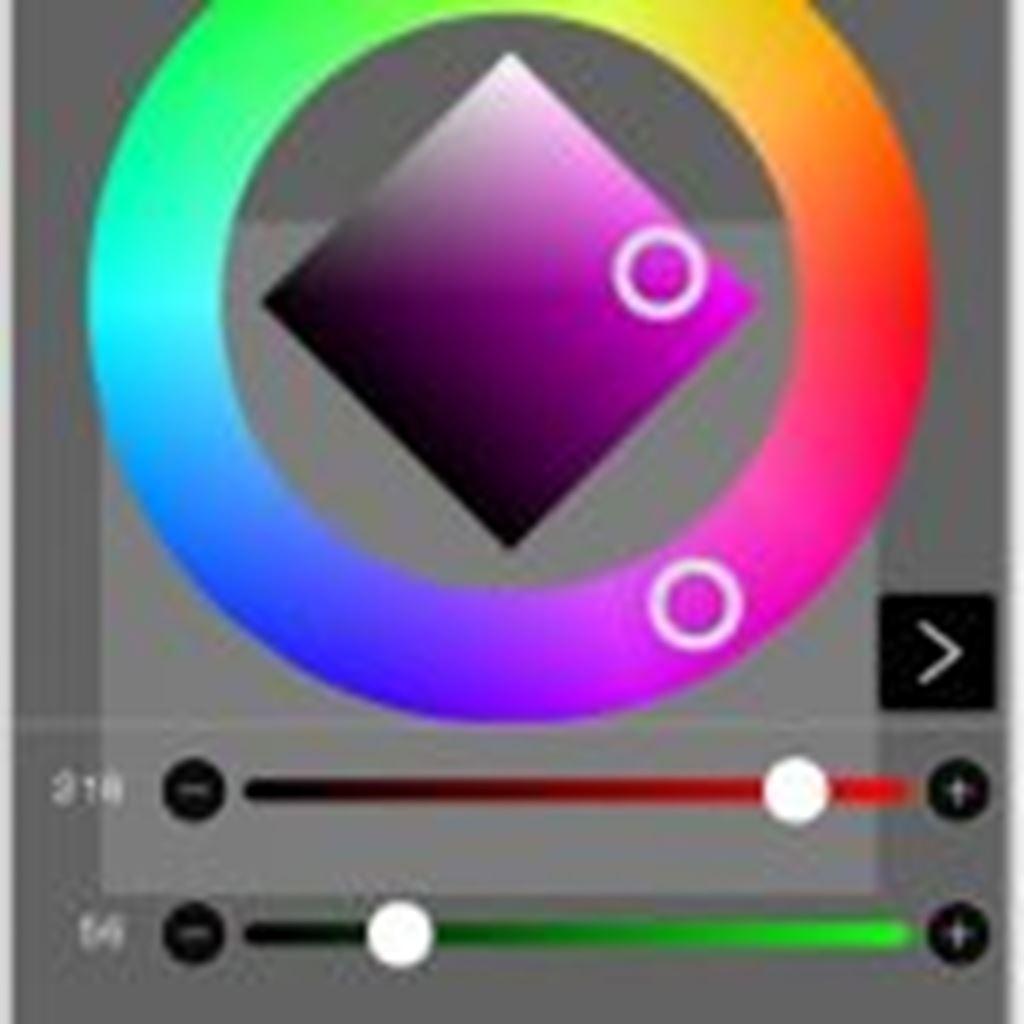 【ibisPaint(アイビスペイント)】#04ブラシや塗りつぶしの「色」を変更する方法