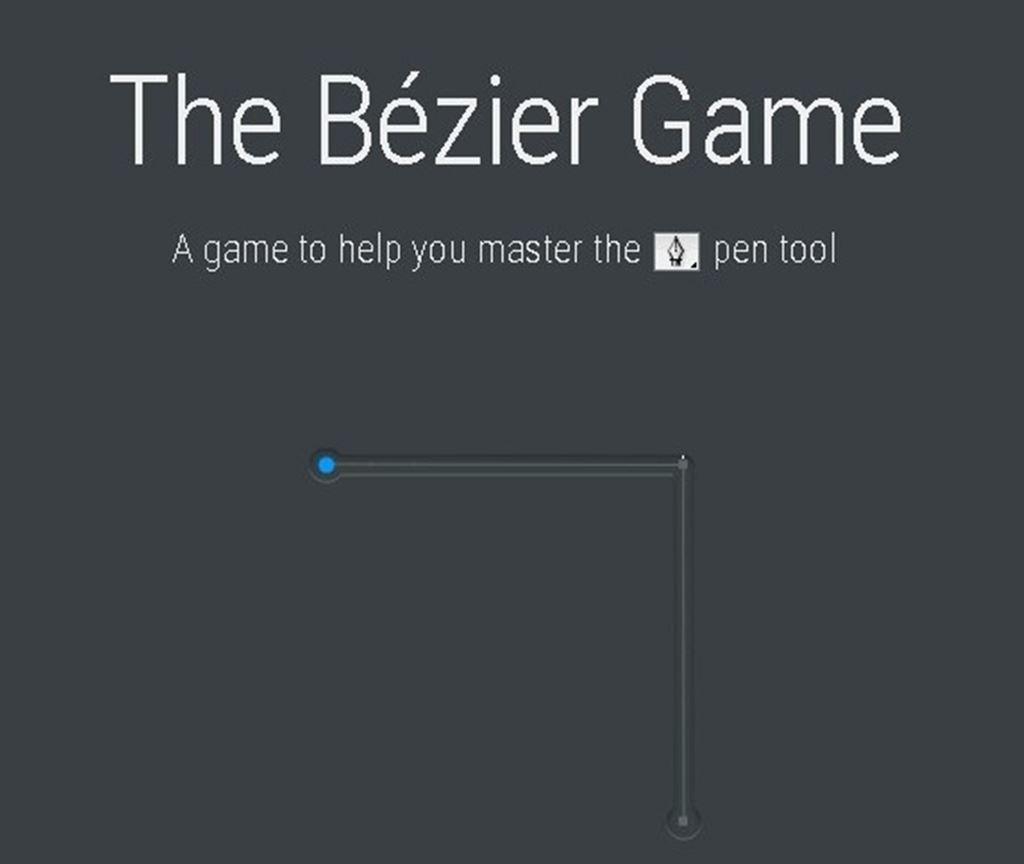 【イラストレーター】ベジェ曲線を練習できるオススメサイト!ベジェメソッド【bezier.method.ac】