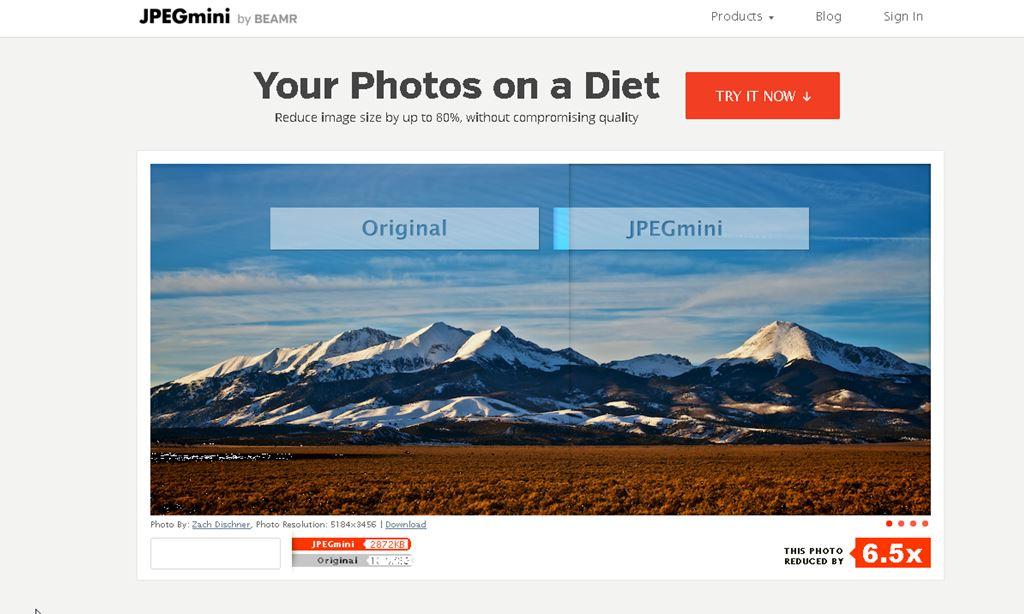 画質を劣化せずに画像サイズを圧縮できる便利なWEBサービス|JPEGmini