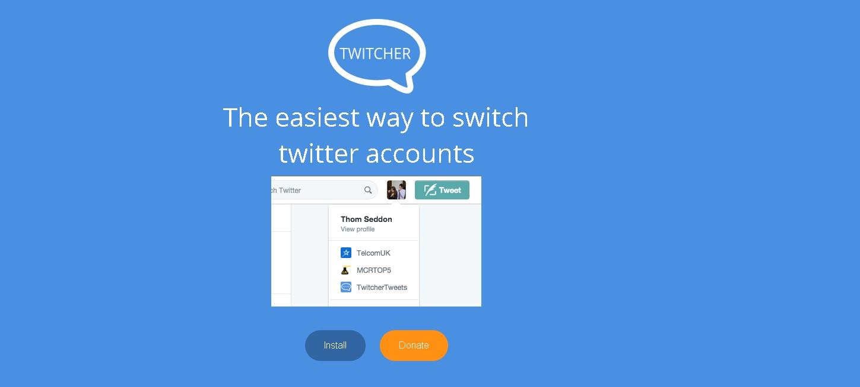 「Twitcher」便利すぎ!PCで複数のTwitterアカウントを切り替えるChrome拡張機能!