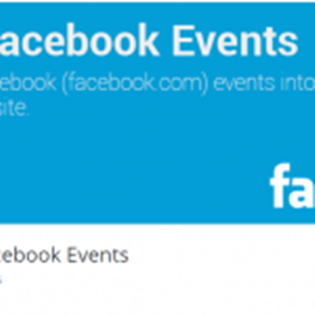WordPressにFacebookのイベント情報を取り込むプラグイン|Import Facebook Events プラグイン