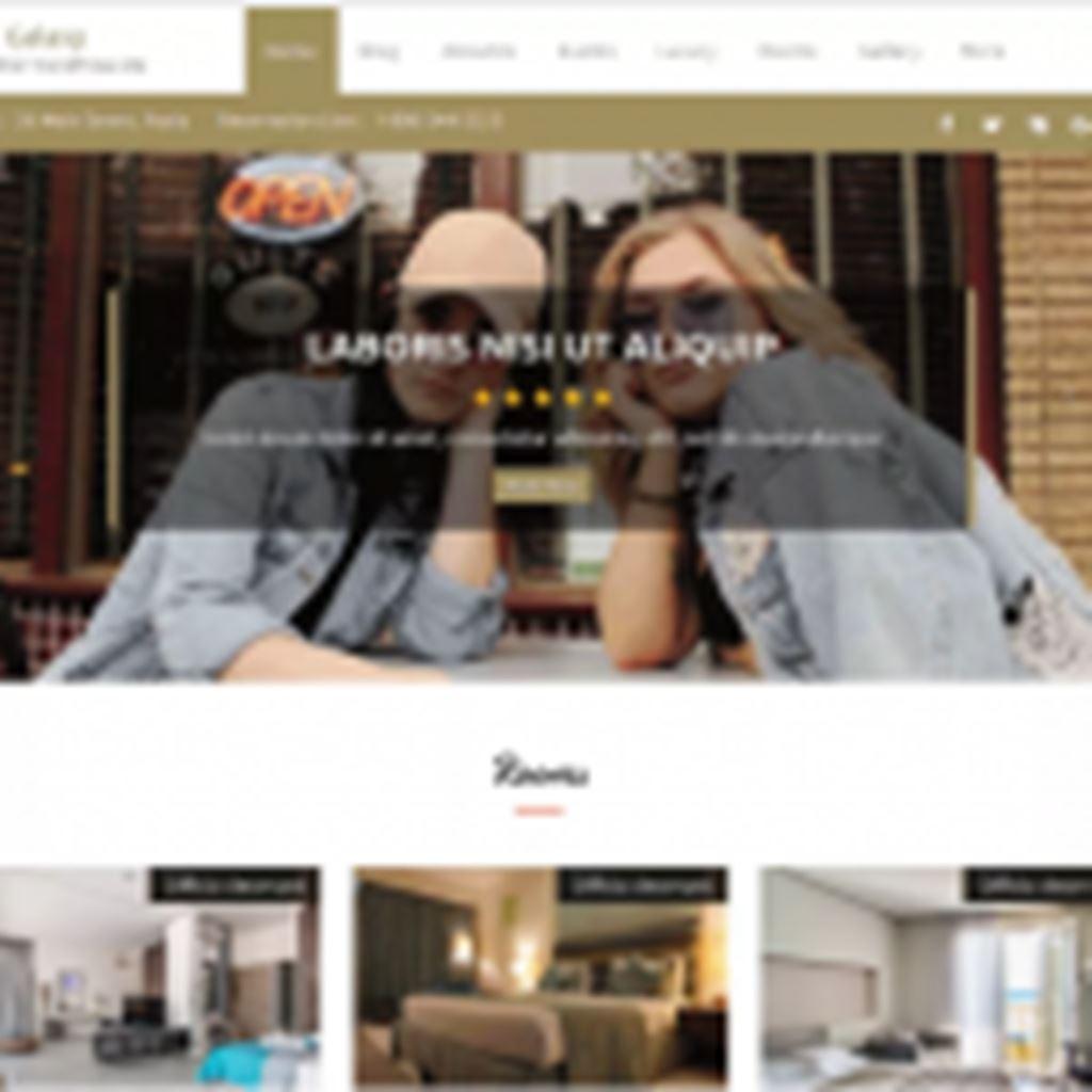 【Hotel Sydney】ホテル、レストラン、飲食店などにオススメのWordPressテーマ