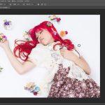 【PhotoshopCC】髪の毛の色を変える方法|色相・彩度補正|レイヤーマスク