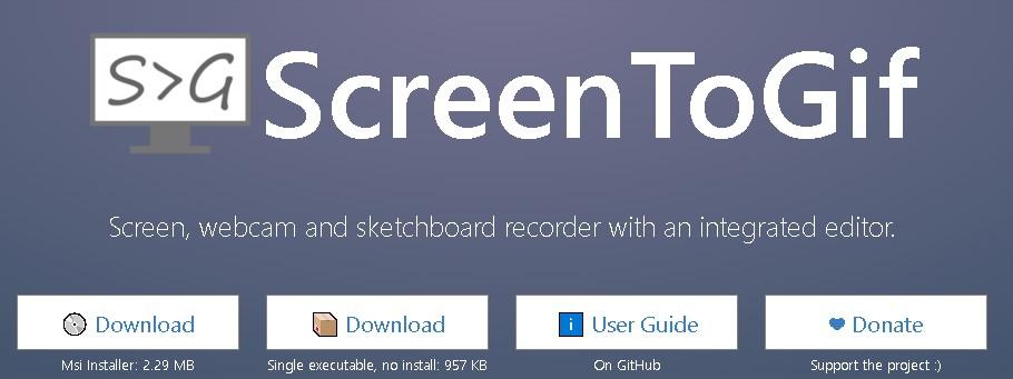 画面操作をGIFで録画できるツール「ScreenToGif」が超絶便利!