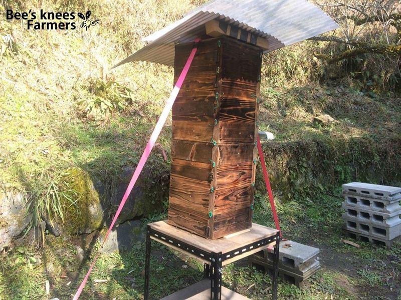 4月15日/日本ミツバチの巣箱づくりワークショップinくるくるハイツ