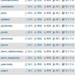 【WordPress(ワードプレス)】データベース構造・テーブルの概要|MySQL
