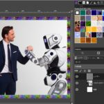 【GIMP】画像にいい感じの枠・縁・フレームを作る方法|パターンで塗りつぶす